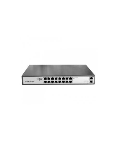18 портовый PoE Ethernet коммутатор JT-POE31016PA