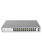 26 портовый PoE Ethernet коммутатор JT-POE31024P