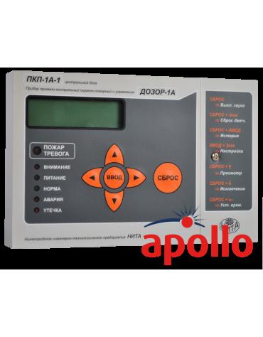 Прибор охранно-пожарный приемно-контрольный ПКП-1А-1 исп.1 протокол Apollo