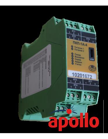 Прибор охранно-пожарный приемно-контрольный ПКП-1А-4 протокол apollo