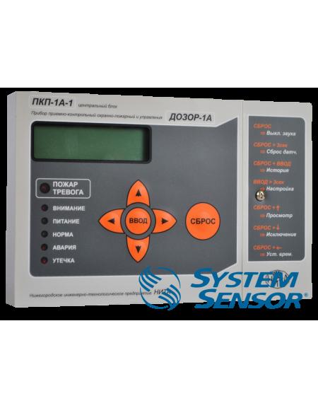 Прибор охранно-пожарный приемно-контрольный ПКП-1А-1 исп.1 протокол лео