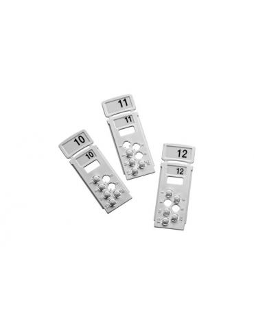 45682-127APO Полный набор бланк XPERT Card с предустановкой адреса от 1 до 126