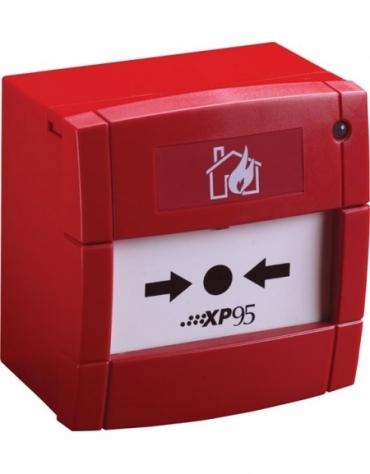 55100-908APO Ручной пожарный извещатель XP95 с изолятором КЗ. Красный.