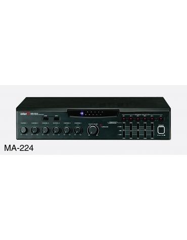 MA-224 Цифровой трансляционный микшер / усилитель MA-224